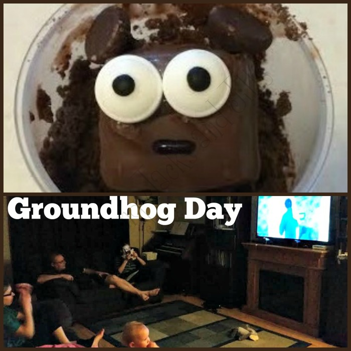 groundhog day collage