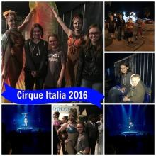 cirque italia collage
